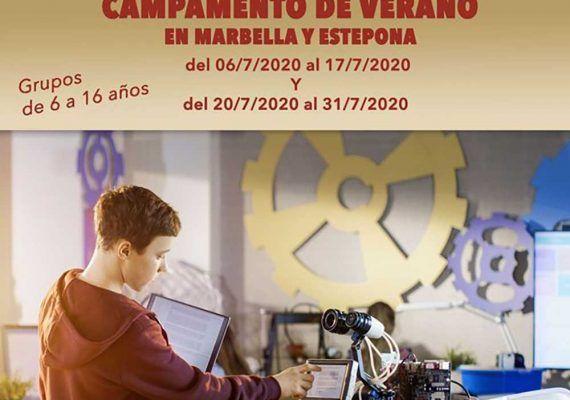 Campamento de verano de altas capacidades en Marbella y Estepona con Ciencia Divertida