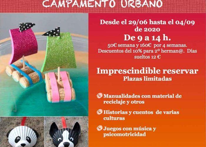Campamento urbano multidisciplinar para niños con JuegArte en Rincón de la Victoria