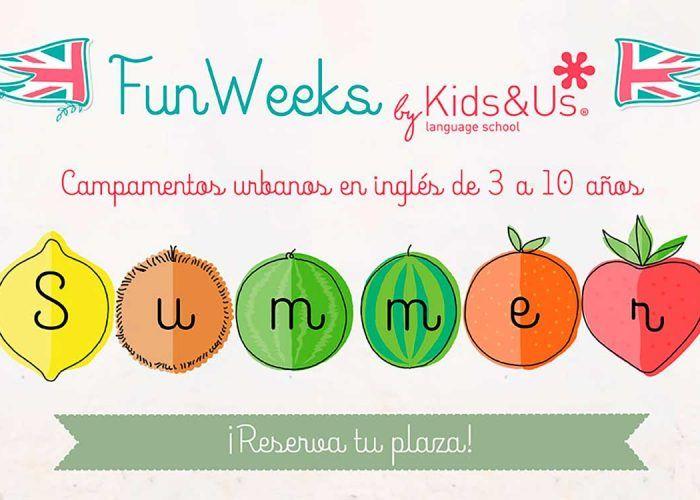 Campamento de verano en inglés para niños de 3 a 10 años con Kids&Us Málaga y Torremolinos