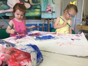 Campamento de verano sobre arte para niños en Mijas