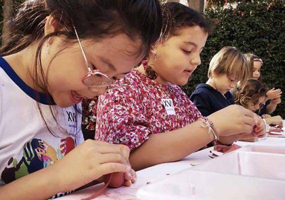 Campamento de verano sobre arte para niños en el Museo Picasso Málaga