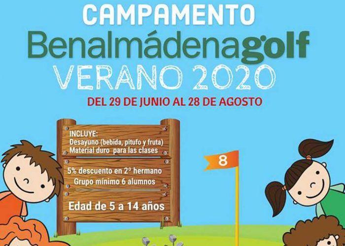 Campamento de verano para niños en Benalmádena Golf