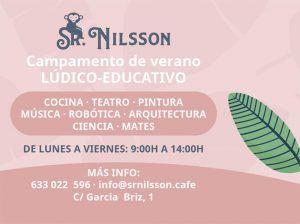 Campamento de verano para niños en pleno centro de Málaga con Sr. Nilsson