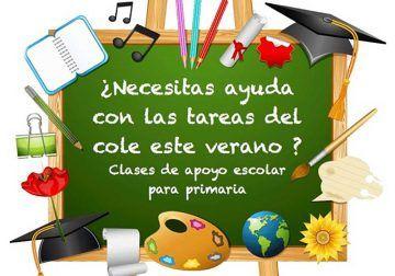 Clases de apoyo escolar este verano en el Centro Multidisciplinar JuegArte de Rincón de la Victoria