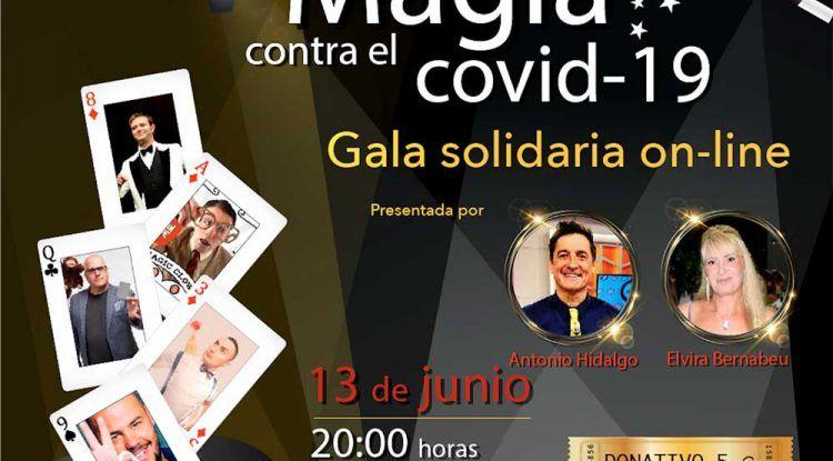 Gala solidaria de magia para luchar contra el coronavirus de la mano de DiabetesCERO