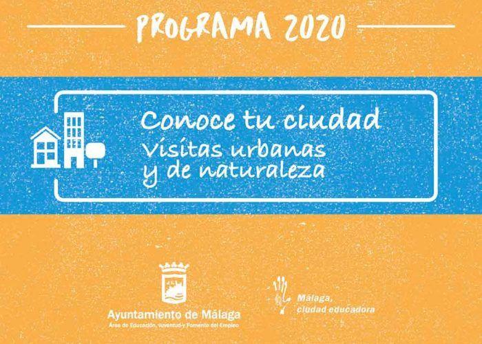 Visitas urbanas y de naturaleza gratis este verano con Málaga Educa