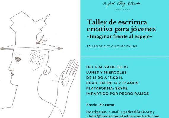 Taller online de escritura creativa para adolescentes con la Fundación Rafael Pérez Estrada