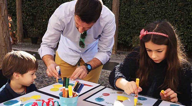 Talleres de arte para toda la familia este julio en el jardín del Museo Picasso Málaga