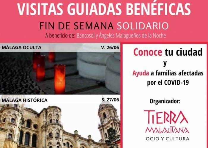 Visitas guiadas benéficas por el centro de Málaga para toda la familia