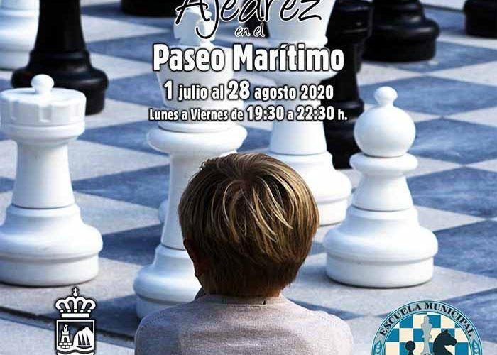 Partidas de ajedrez para niños y adultos gratis este verano en Estepona