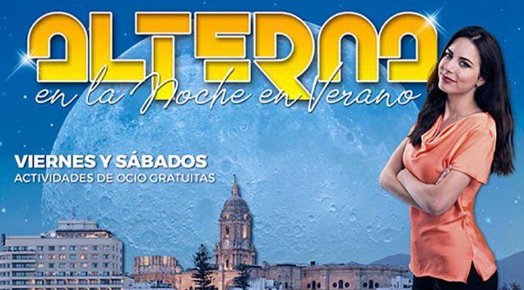 Actividades gratis para jóvenes en Málaga este septiembre con 'Alterna en la noche'