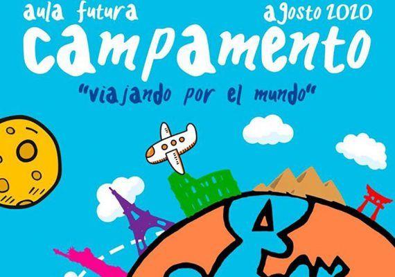 El campamento infantil de agosto en Aula Futura Málaga invita a los peques a viajar por el mundo