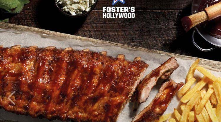 Niños gratis en comidas y cenas de Foster's Hollywood Málaga con La Diversiva