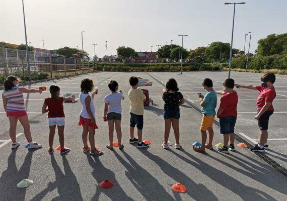 Celebración de cumpleaños infantiles al aire libre en Málaga con Sportislive