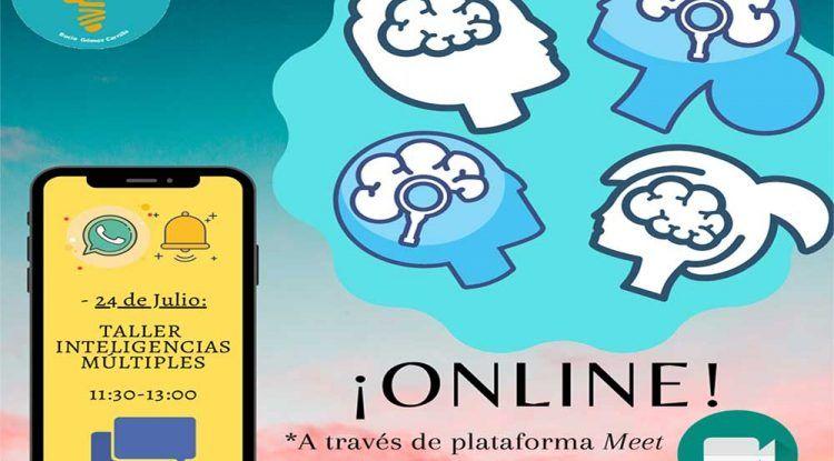 Taller online para niños sobre los distintos tipos de inteligencia y el autodescubrimiento de ellas con Te Motivan
