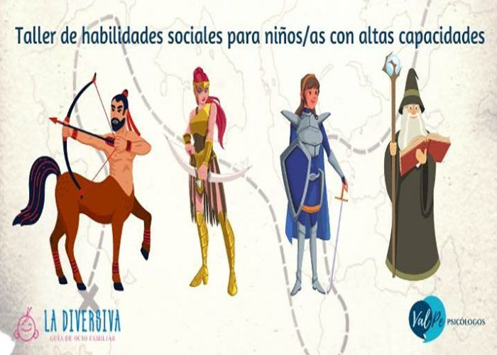 Taller de habilidades sociales para niños con Altas Capacidades en Málaga capital
