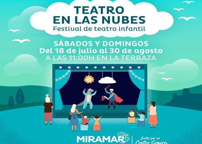 Festival de teatro infantil gratis los sábados y domingos en la terraza del CC Miramar de Fuengirola
