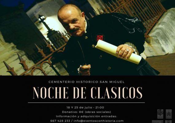 Visitas teatralizadas para familias en el Cementerio Histórico de San Miguel en Málaga
