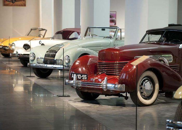 Visitas guiadas y juegos de época para toda la familia este julio en el Museo Automovilístico de Málaga