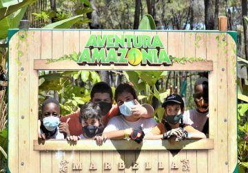 Aventura Amazonia Marbella: diversión en familia en la naturaleza