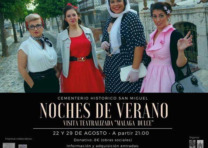 """Visitas teatralizadas y muy """"dulces"""" para adultos y niños en el Cementerio Histórico San Miguel"""