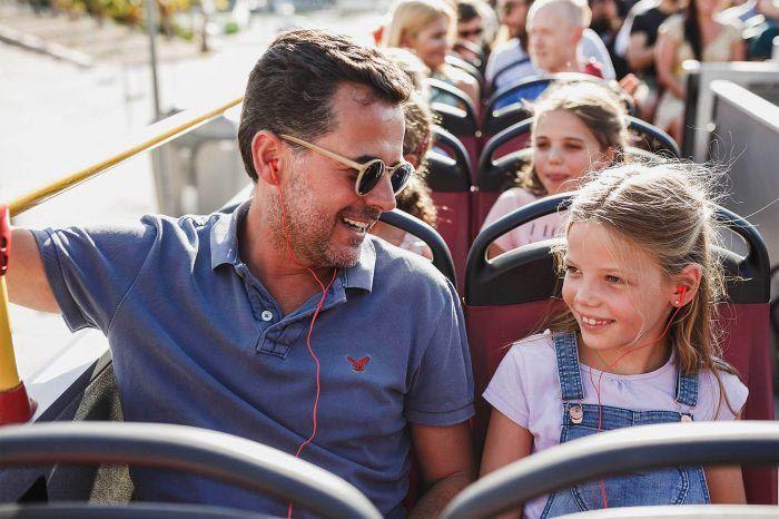 Viajes gratis para los menores de 12 años en los autobuses turístico de City Sightseeing