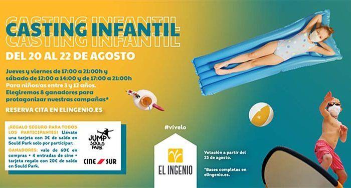 Casting infantil: El Ingenio de Vélez-Málaga busca ocho niños para sus próximas campañas de moda