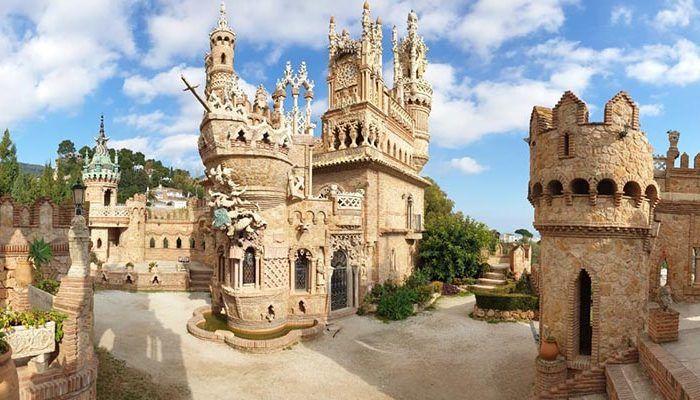 Visitas escolares al Castillo Colomares en Benalmádena: al aire libre, divertidas y para todas las edades