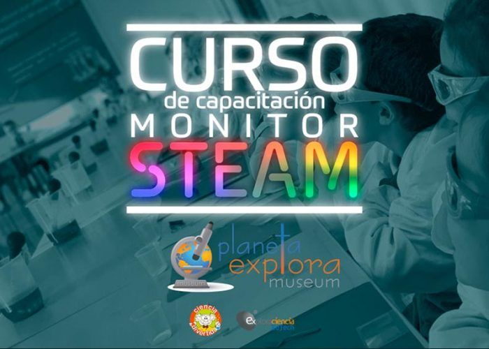 Cursos de monitor STEAM para educación no formal con Planeta Explora