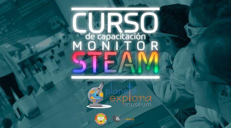 Cursos de monitor STEAM para educación no formal con Planeta Explora
