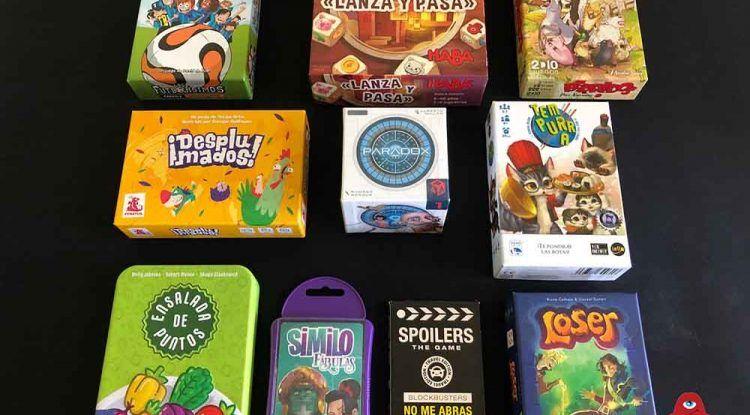 10 Juegos de mesa para acompañar las vacaciones de verano de 2020: recomendaciones de Cuéntame un juego