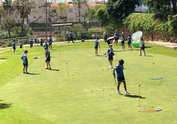 Benalmádena Golf: escuela para niños y en familia temporada 2020-2021