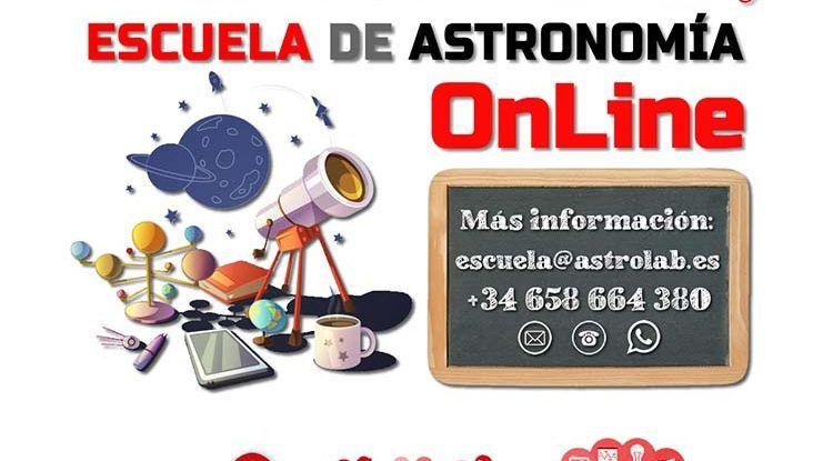 Observaciones astronómicas y escuela online este 2020/21 con AstroLab en Yunquera (Málaga)