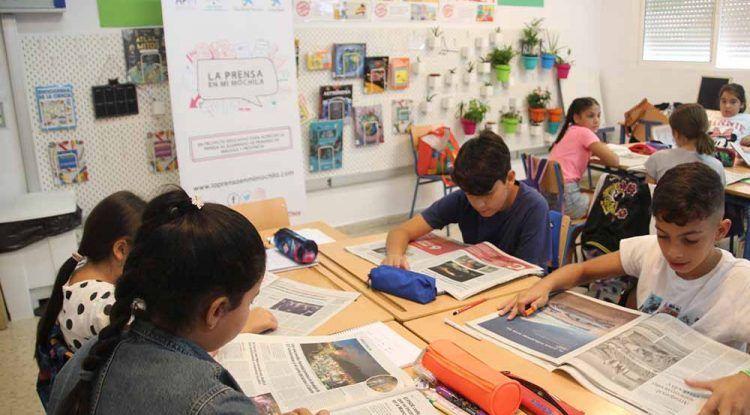 """Atención coles: Nueva edición de """"La prensa en mi mochila"""" para acercar el periodismo a las aulas"""