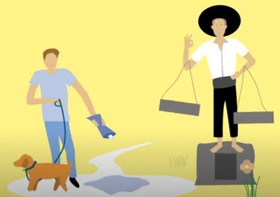 """""""Ser limpios por Málaga"""": Agua y vinagre para limpiar el pipí de los perros en la vía pública"""