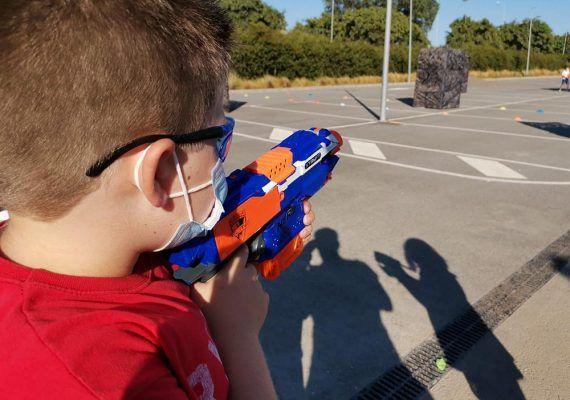 Cumples infantiles y fiestas al aire libre y muy divertidos en Verdecora Málaga con Sport is Live