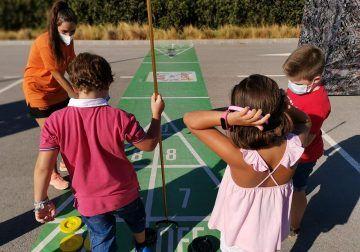 Cumples infantiles y fiestas al aire libre muy divertidos en Verdecora Málaga con Sportislive