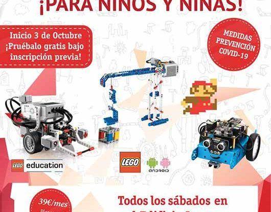 Curso infantil sobre robótica y tecnología con Stemxion en Benalmádena