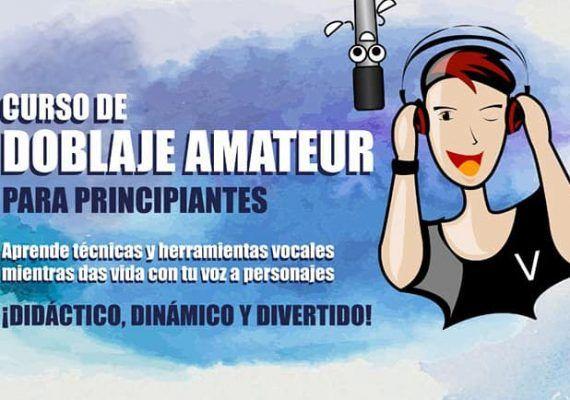 Curso de doblaje amateur para jóvenes y mayores en Málaga con Yoitec