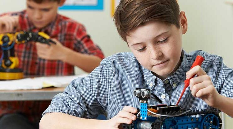 Máster en robótica para niños en Málaga con Lego Education