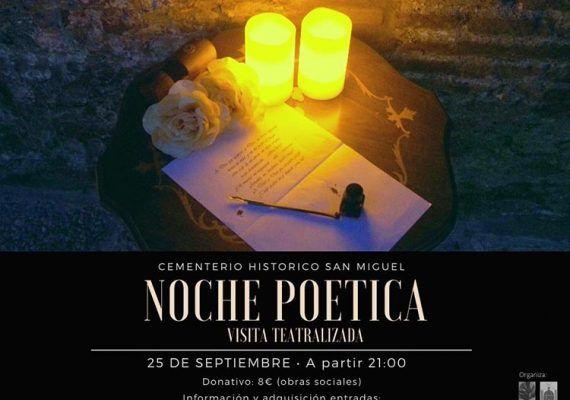 Visita teatralizada y poética para familias con niños en el Cementerio San Miguel de Málaga
