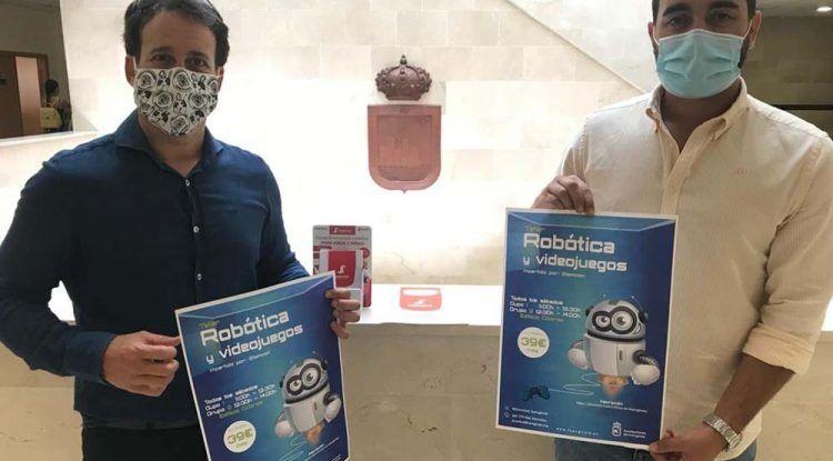 Curso anual de robótica y videojuegos para niños en Fuengirola con Stemxion