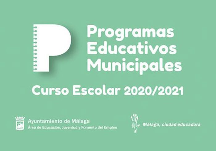 Programas educativos municipales para los centros escolares de Málaga curso 2020-2021