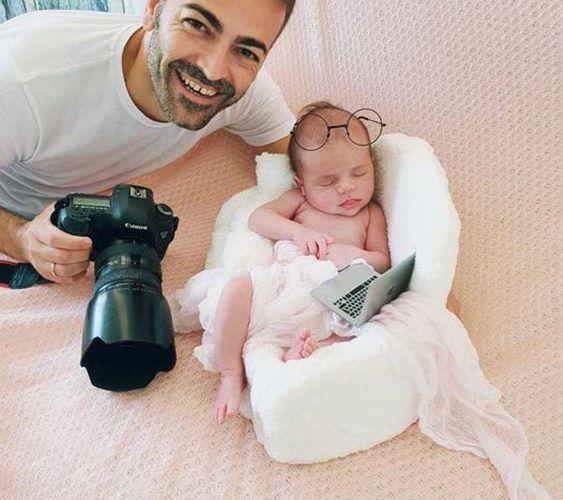 Reportajes de fotografía para bebés y niños con Atelier Fotógrafos en Málaga