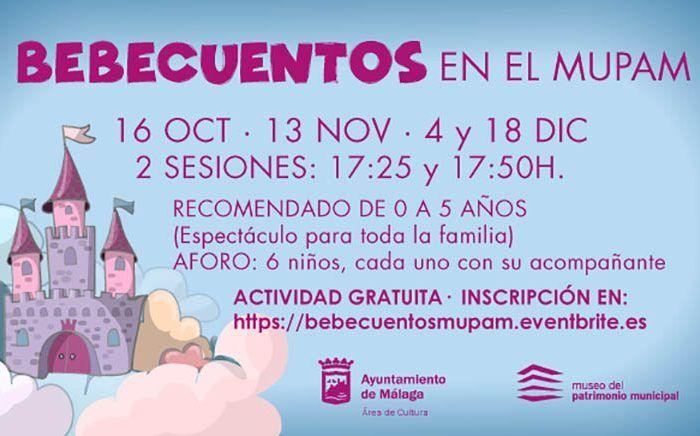 Cuentacuentos gratis para bebés y niños en el MUPAM en otoño