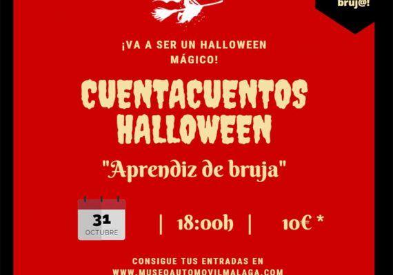 Cuentacuentos por Halloween en el Museo Automovilístico y de la Moda de Málaga