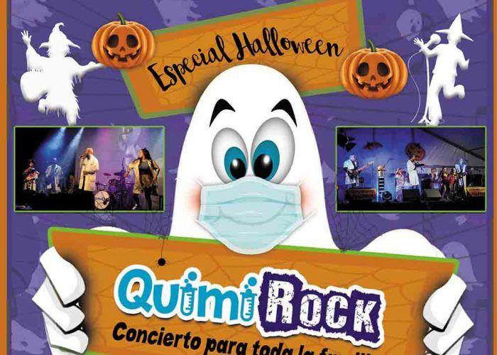 Concierto para niños especial Halloween en La Cochera Cabaret con QuimiRock