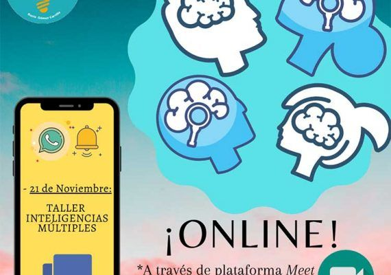 Taller infantil online sobre los distintos tipos de inteligencias con Te Motivan (Málaga)