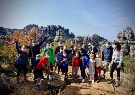 Visitas guiadas y talleres gratis para toda la familia en octubre en el Torcal de Antequera