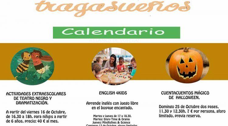 Clases de Teatro e inglés y cuentacuentos en la sala Tragasueños de Pedregalejo (Málaga)